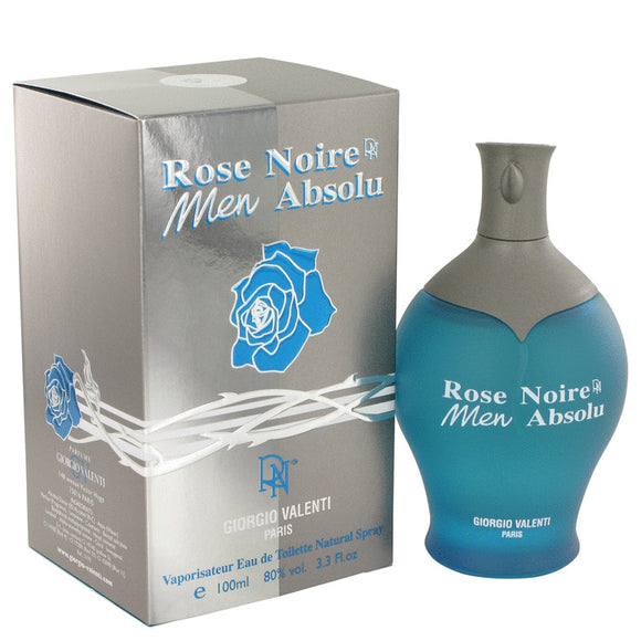 Rose Noire Absolu by Giorgio Valenti Eau De Toilette Spray 3.4 oz for Men