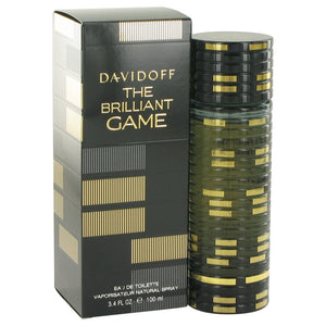 The Brilliant Game by Davidoff Eau De Toilette Spray 3.4 oz for Men