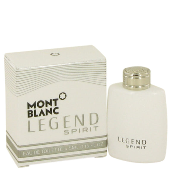 Montblanc Legend Spirit by Mont Blanc Mini EDT .15 oz for Men