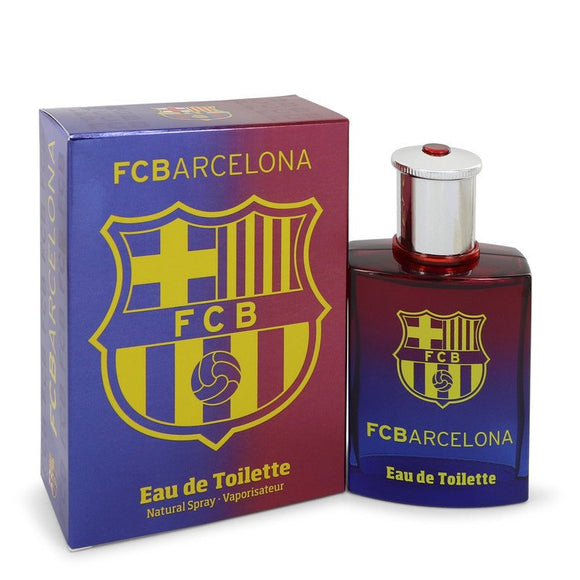 FC Barcelona by Air Val International Eau De Toilette Spray 3.4 oz for Men