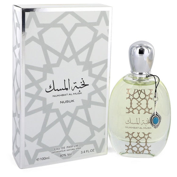Nukhbat Al Musk by Nusuk Eau De Parfum Spray (Unisex) 3.4 oz for Men