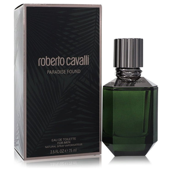 Paradise Found by Roberto Cavalli Eau De Toilette Spray 2.5 oz for Men