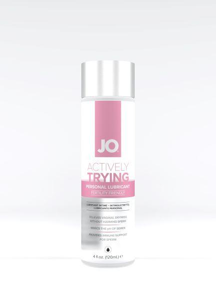 Jo Actively Trying Personal Lubricant 4oz