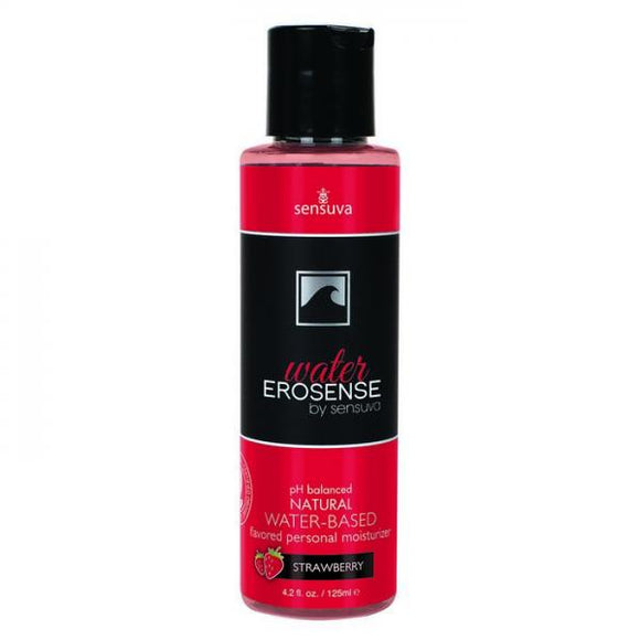 Erosense Water Strawberry Flavored Lubricant 4.2oz