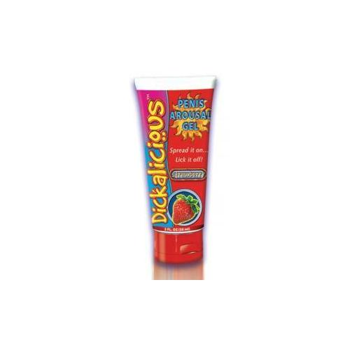 Dickalicious Penis Arousal Gel 2oz Strawberry