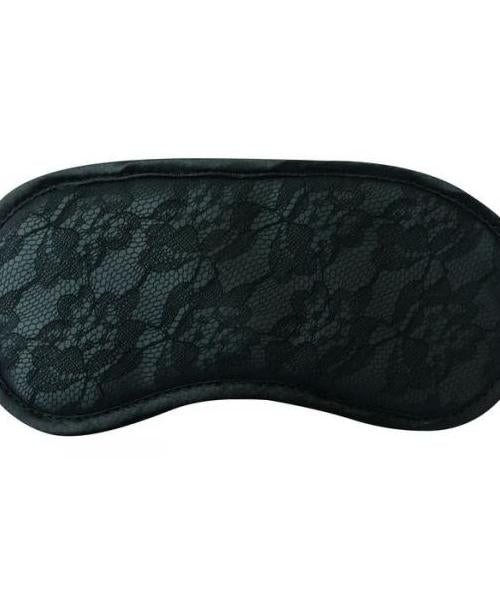 Midnight Lace Blindfold Black O-S
