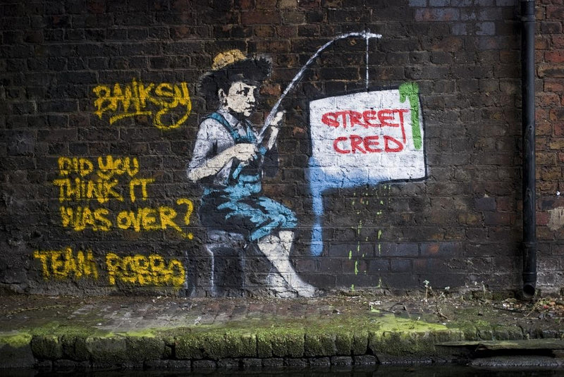 King Robbo and Banksy Feud