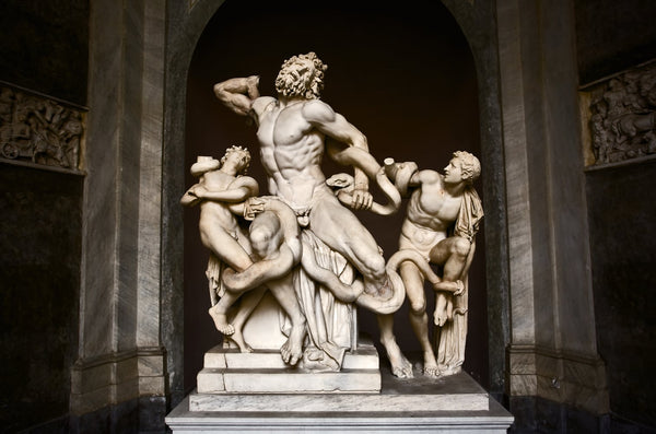 Laocoon and His Sons Sculpture