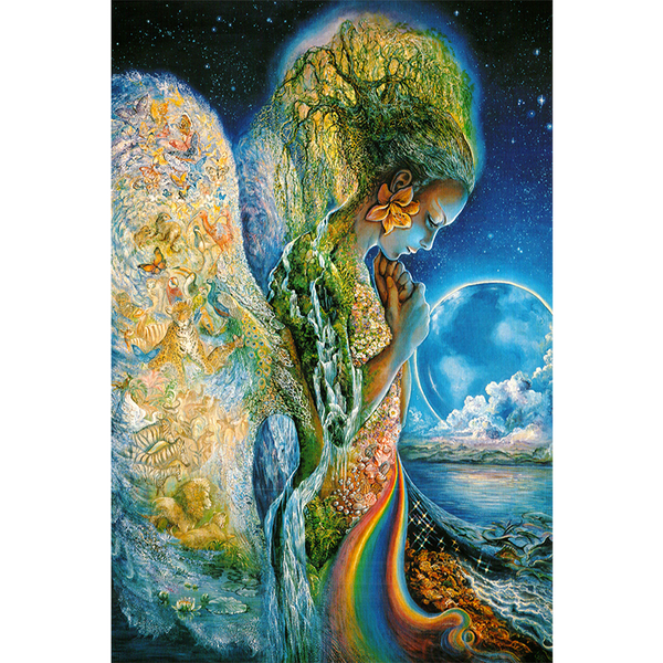 Mystical Mother Nature Illustration