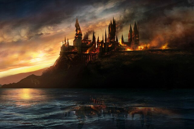 Battle At Hogwarts