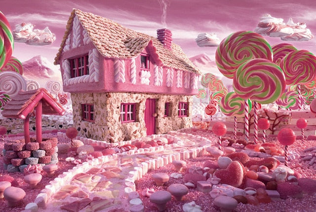 Pink Candy House