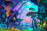 Strange Psychedelic Alien World
