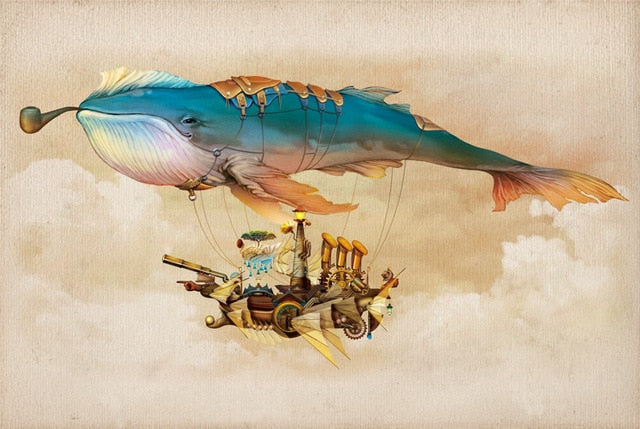 Whale Hot Air Balloon