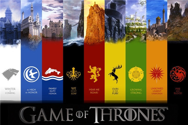 Game of Thrones House Insignia