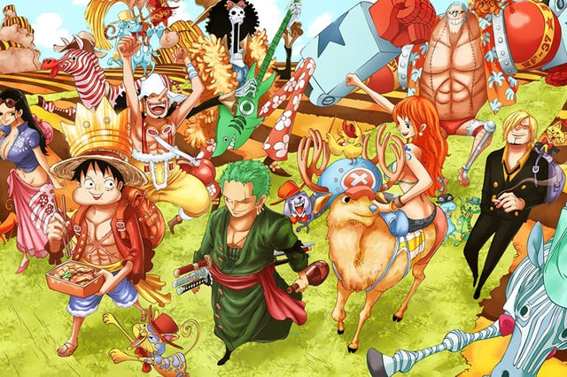 Luffy and His Companions