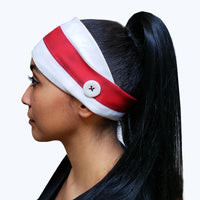 American Flag Button Headband