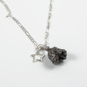 NATURAL METEORITE AND STAR