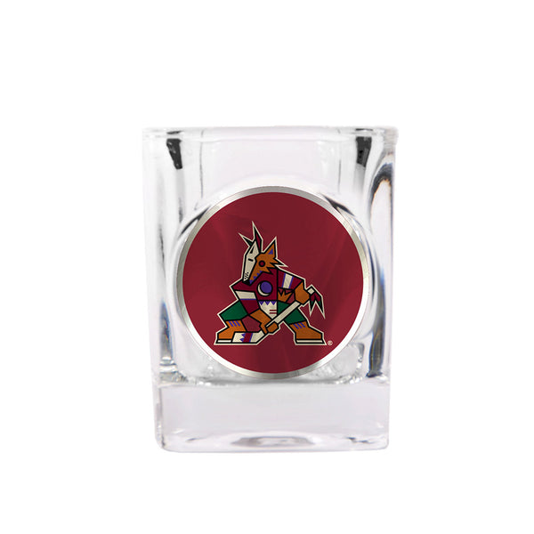 Arizona Coyotes 2 Pack Howl Yeah Shot Glass