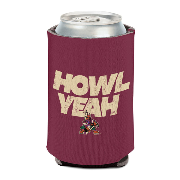 Arizona Coyotes Howl Yeah Can Coozie
