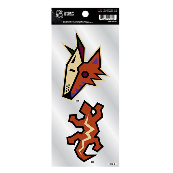Arizona Coyotes 2 Pack Special Edition Decals