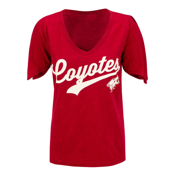 Arizona Coyotes Ladies NHL GIII First String T-Shirt