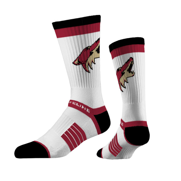 Strideline Arizona Coyotes Crew Socks