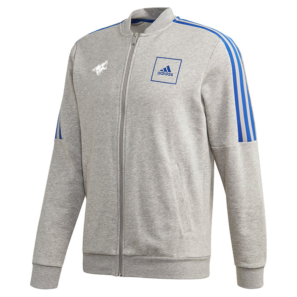 adidas Coyotes 3 Stripe Full Zip Track Jacket