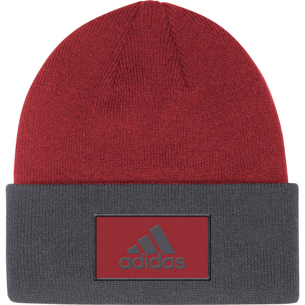 adidas Arizona Coyotes Front and Back Knit Hat