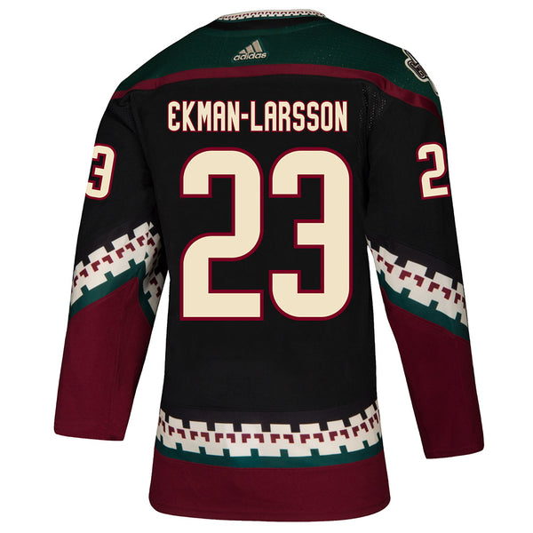 Adidas Arizona Coyotes Oliver Ekman-Larsson Authentic Black Alternate Jersey