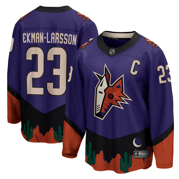 Arizona Coyotes Fanatics Branded Oliver Ekman-Larsson Special Edition Breakaway Jersey