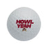 Arizona Coyotes Howl Yeah Golf Ball