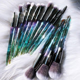 Stained Glass Eye Brush Set (9 pc.)