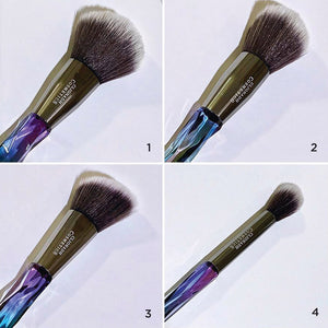 Stained Glass Collection Face Brush Set (4 pc.)