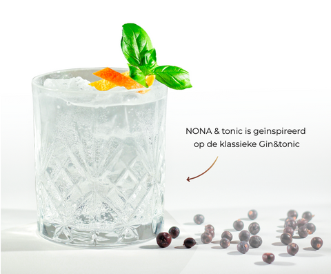 Nona June Curated by Edo alcoholvrije cocktail tonic
