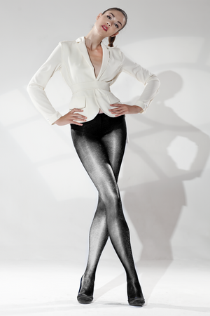 CORUSCENT ULTRA SHINY TIGHTS (VANTABLACK EDITION)