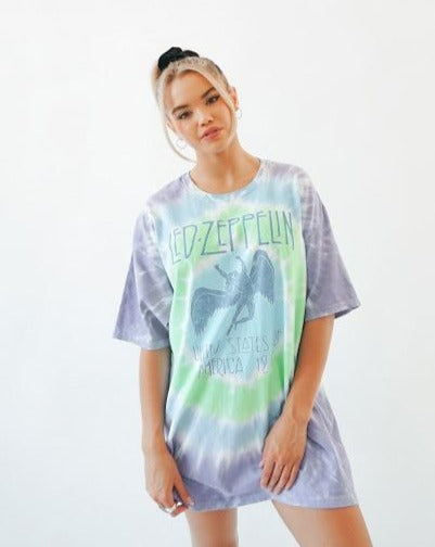 Led Zeppelin Oversized Tee
