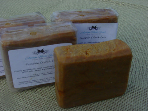 Pumpkin Crunch Cake Soap