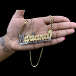 DAR XL Nameplate Necklace