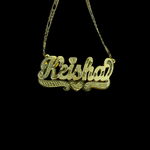 DAR Classic x2 Nameplate Necklace