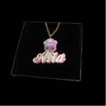 Girls Character Necklace