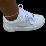 Rose Gold Tennis Anklet