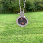 Crown Photo Pendant