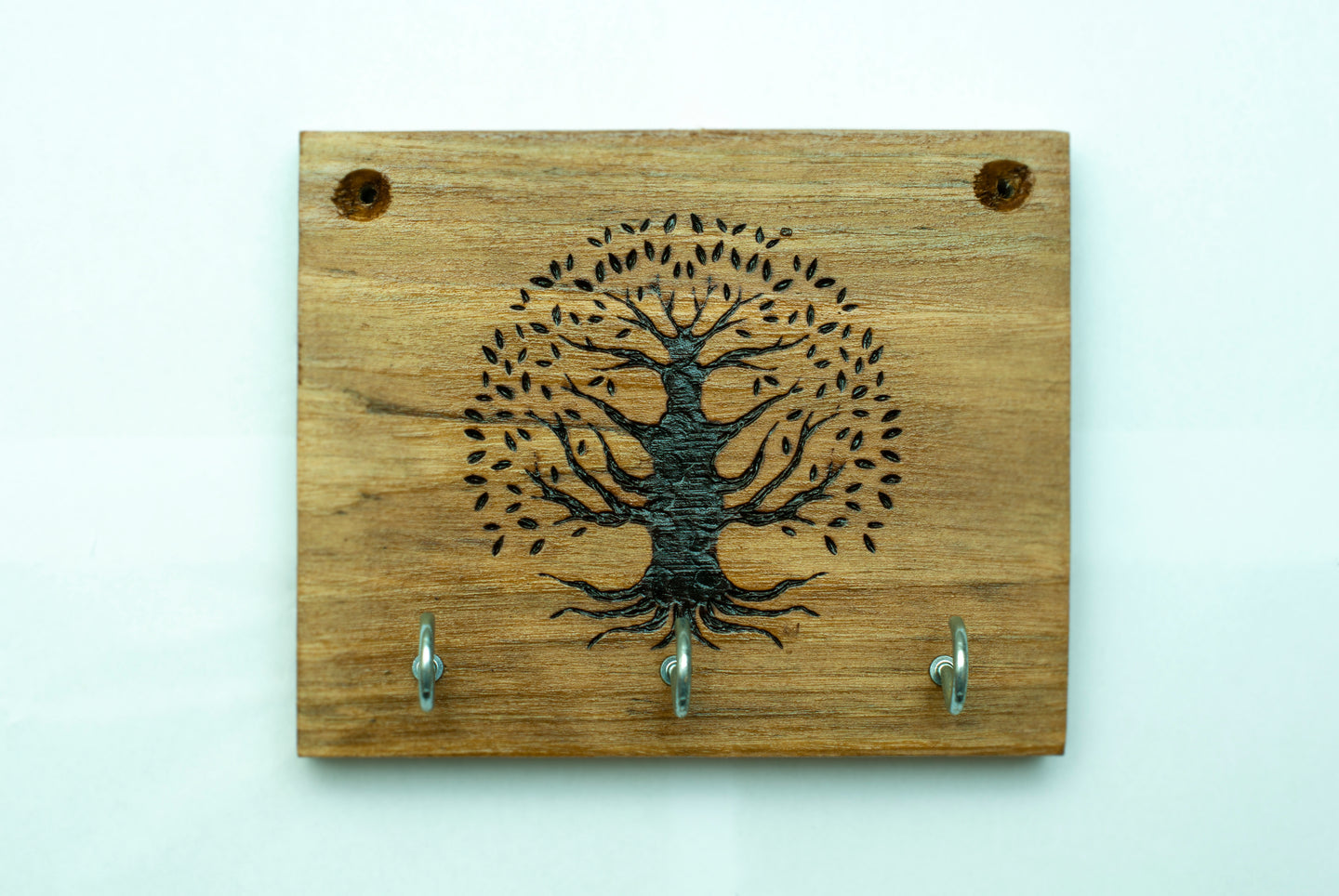 Tree of Life Key Holder - Dark Finish
