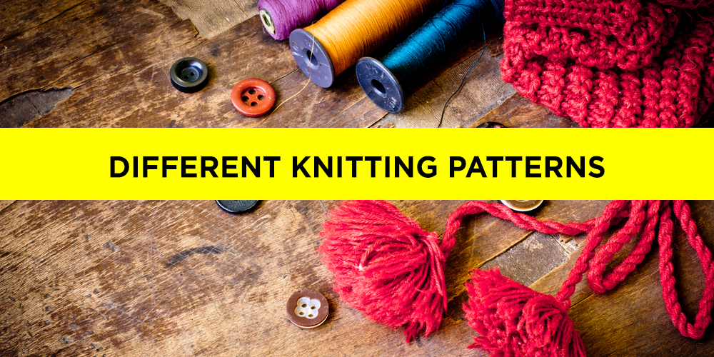 Different Knitting Patterns