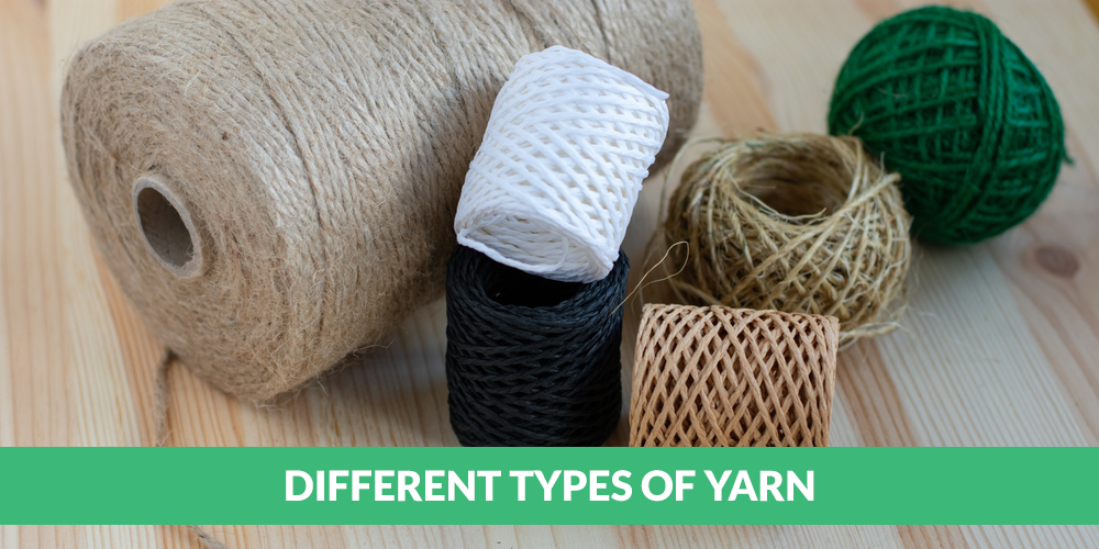 Different types of yarn