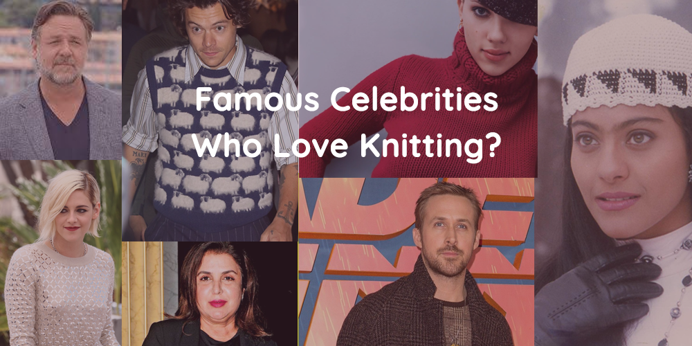 Famous Celebrities Who Love Knitting | Vardhman Knit World