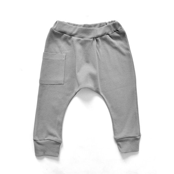 Harem Pants - Storm Grey