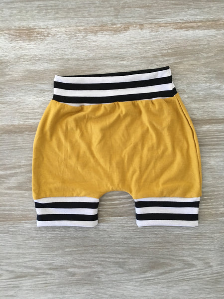 Mustard Stripe Shorties