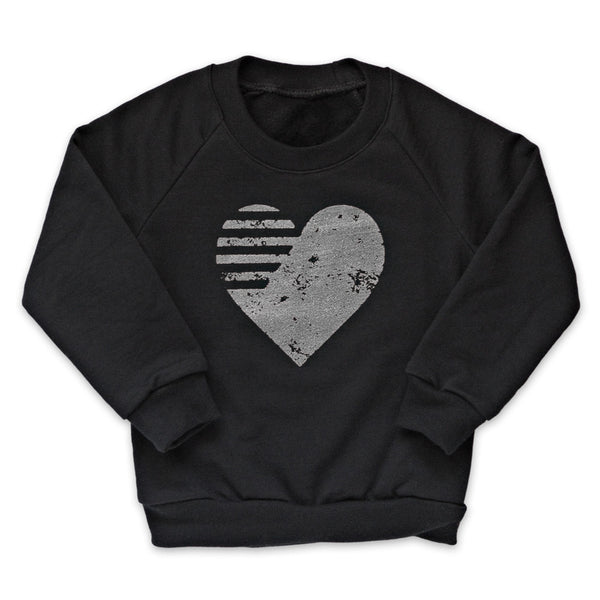 Quicksilver Heart Pullover