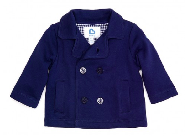 Sailor Peacoat - Navy